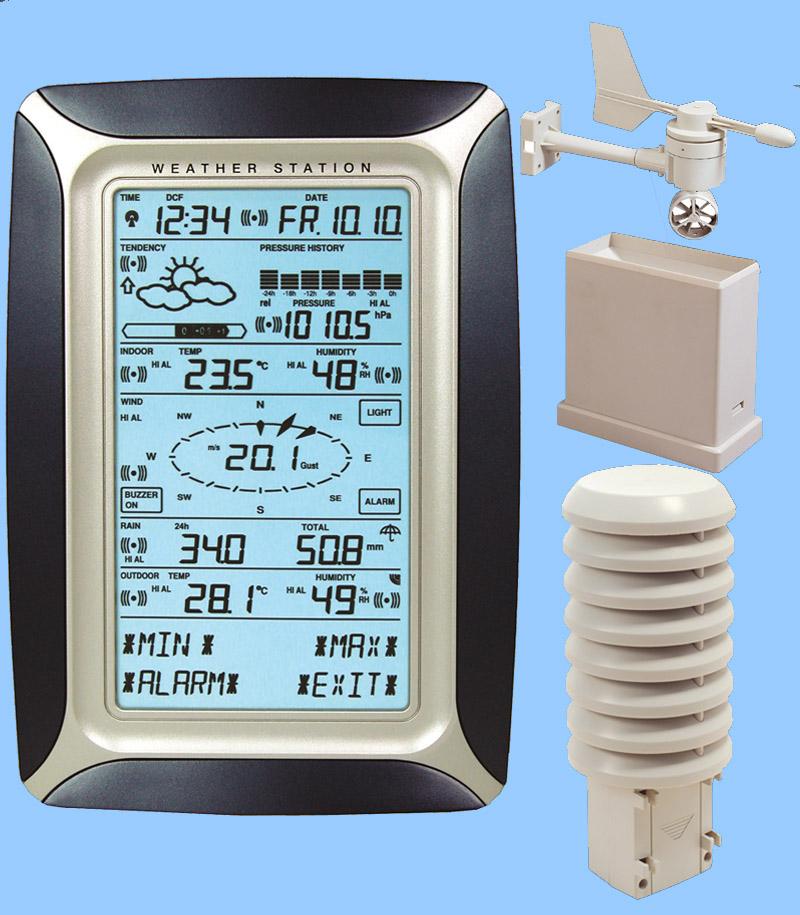 WS3600 de Lacrosse Technologies fut ma seconde station météo entre 2006 et 2007. En même temps fut ouvert mon site internet.